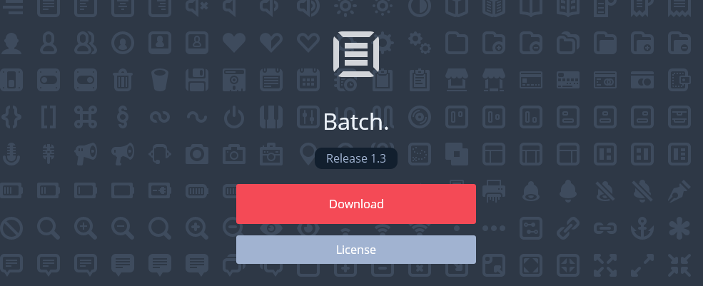 icon in the Batch